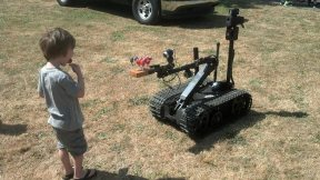 Delridge Day 2014 Bomb Squad Robot