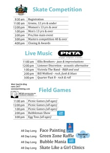 Delridge Day 2013 Event Schedule