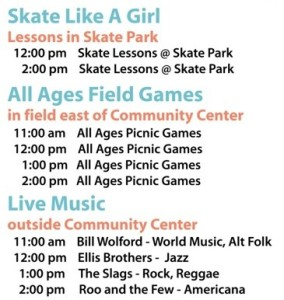 Delridge Day 2014 Program Graphic
